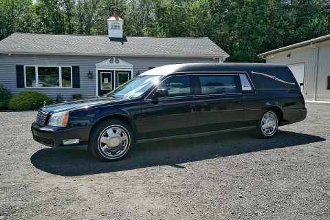 2004 Cadillac Deville Superior Coach [nice and clean] for sale
