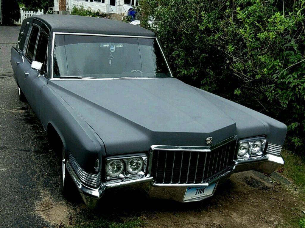1970 Cadillac Hearse [custom dead sled]