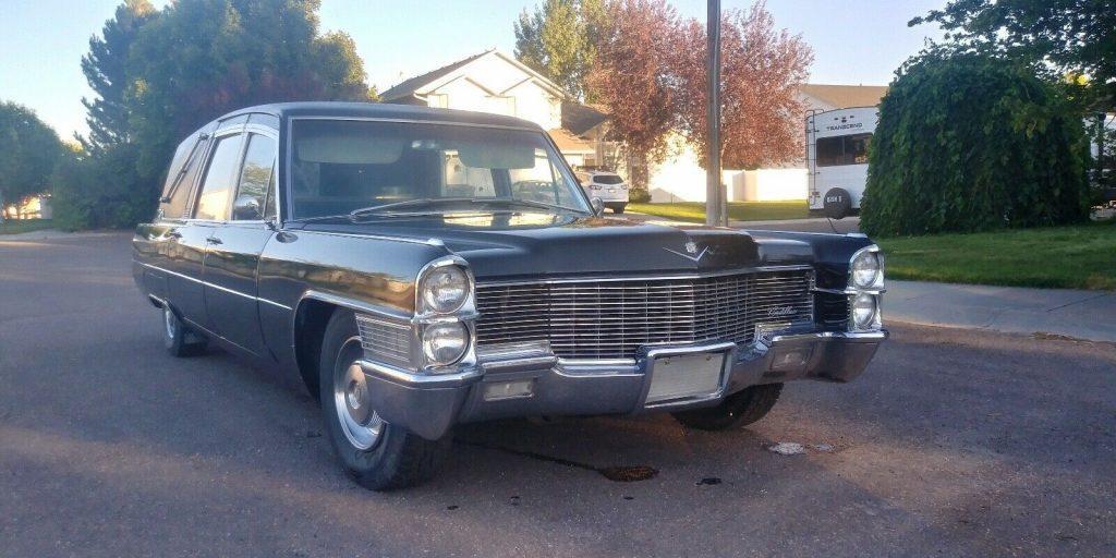 1965 Cadillac Hearse [updated 1968 drivetrain]