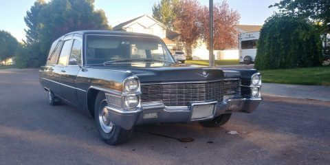1965 Cadillac Hearse [updated 1968 drivetrain] for sale