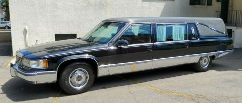 1996 Cadillac Fleetwood S&S Victoria Hearse [well maintained] for sale