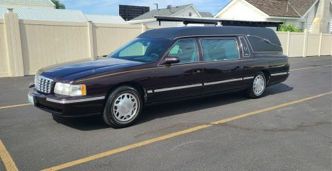 1998 Cadillac Commercial Chassis Superior Statesman Hearse [well kept in great shape] for sale