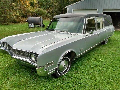 1966 Oldsmobile 98 Cotner-Bevington Hearse [well kept in great shape] for sale