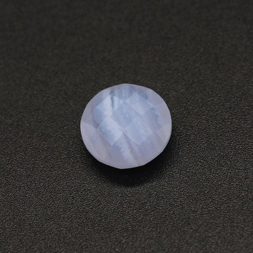 Blue Lace Agate Round Briolette