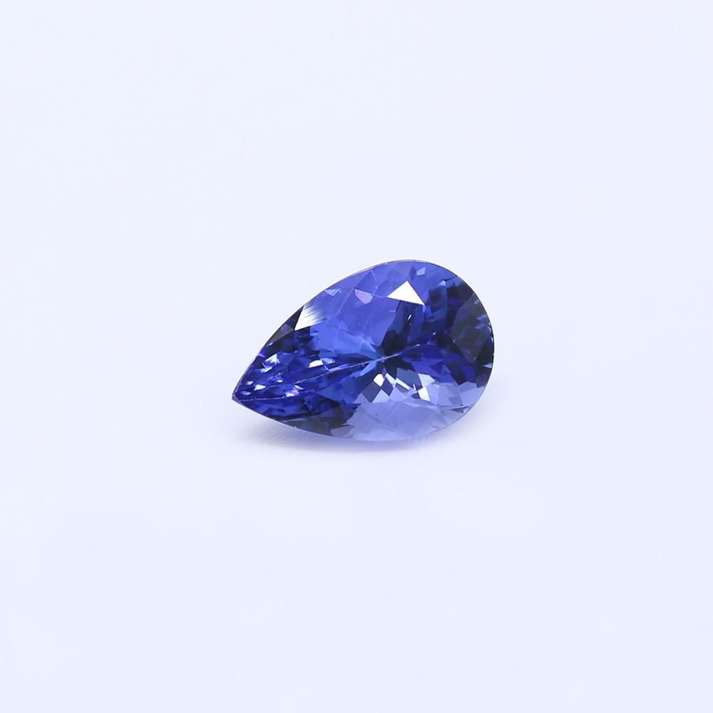 Tanzanite Pears Faceted