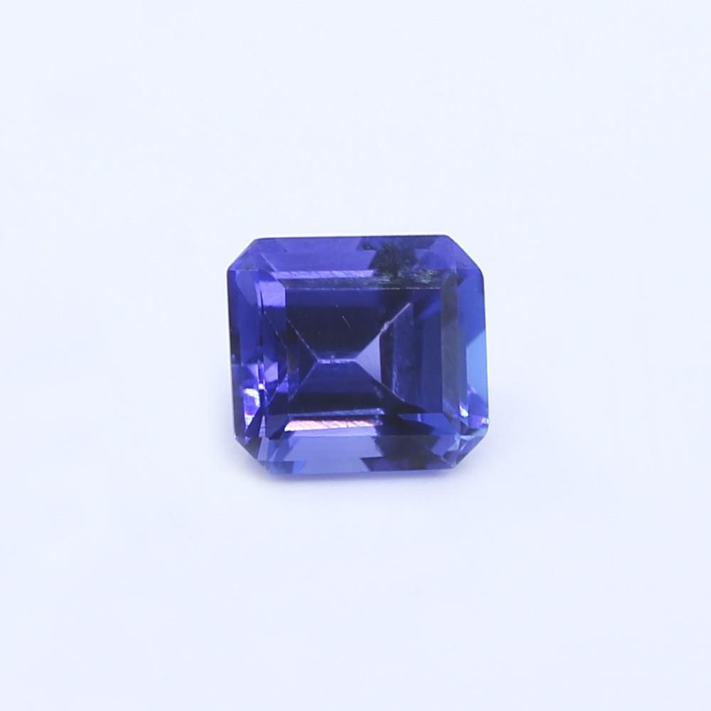 Tanzanite Octagon Faceted