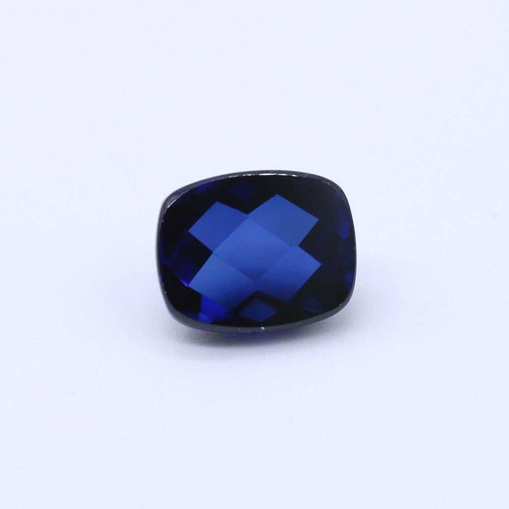 Sapphire (Synthetic) Elongated Cushion Cab