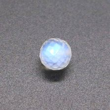 Rainbow Moonstone / White Labradorite Faceted Round Balls
