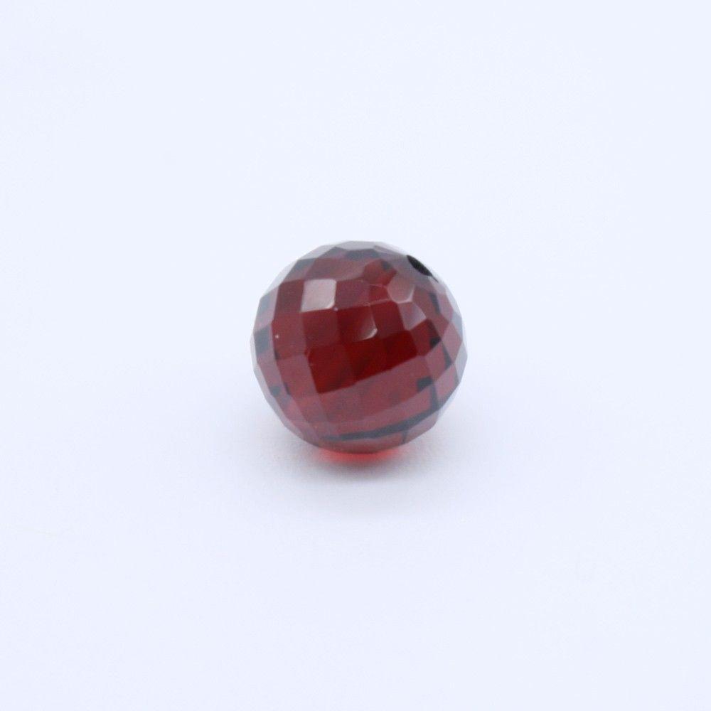 Mozambique Garnet Faceted Round Balls