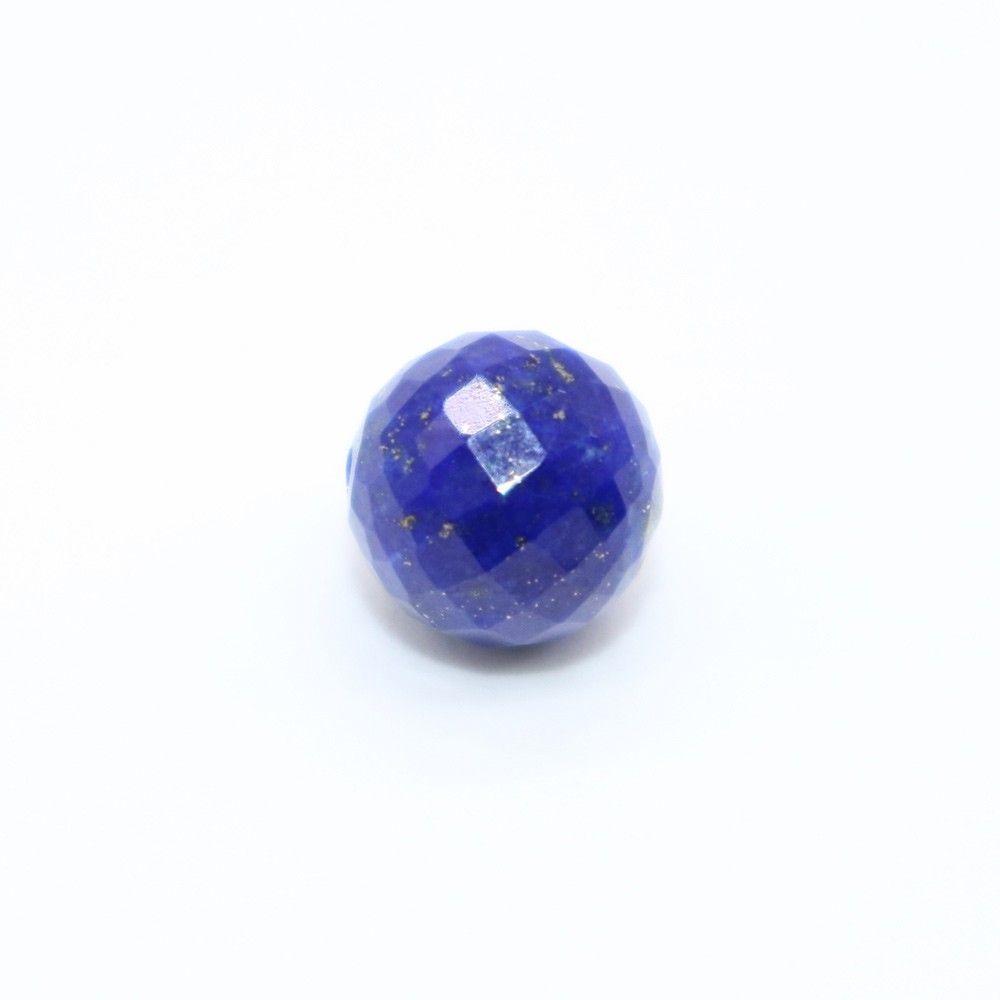 Lapis Faceted Round Balls