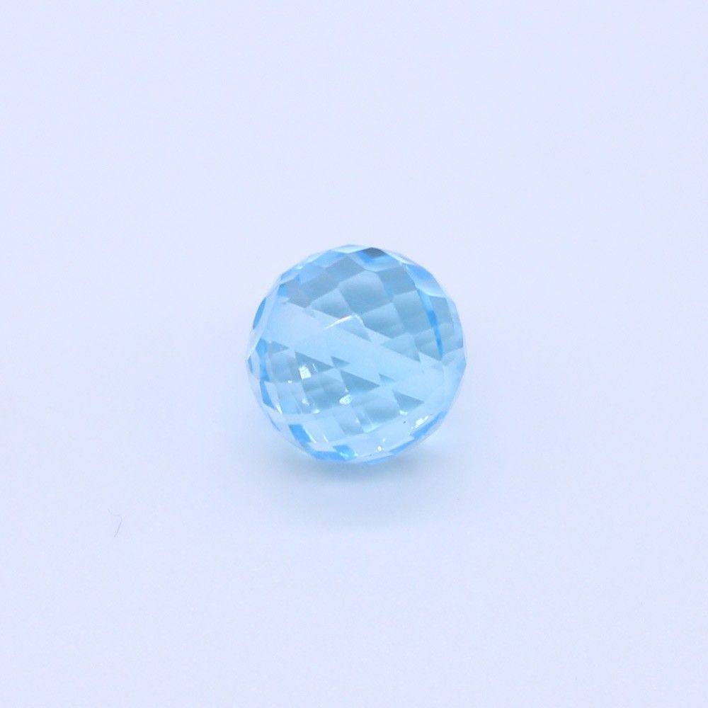 Sky Blue Topaz Faceted Round Balls