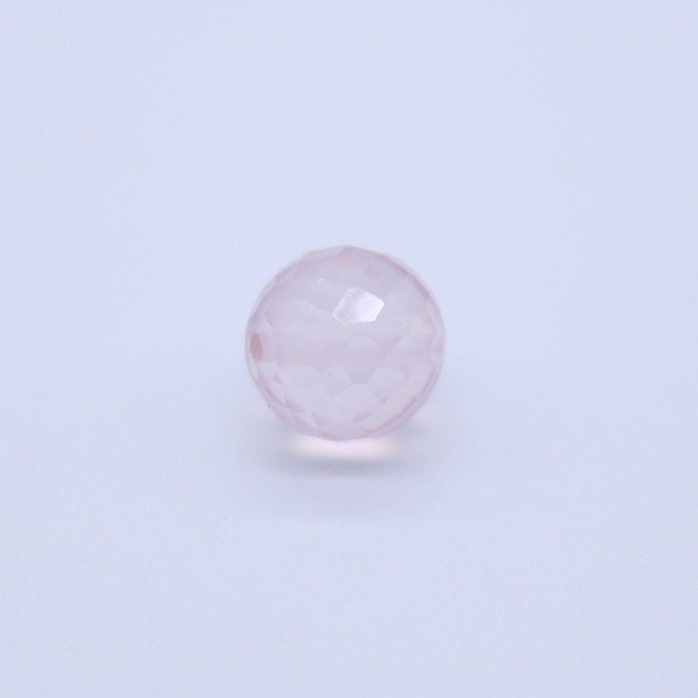 Rose Quartz Faceted Round Balls