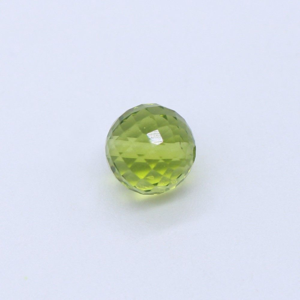 Peridot Faceted Round Balls
