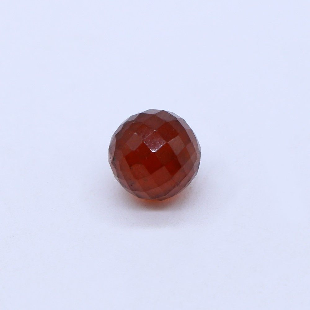 Hessonite Garnet Faceted Round Balls