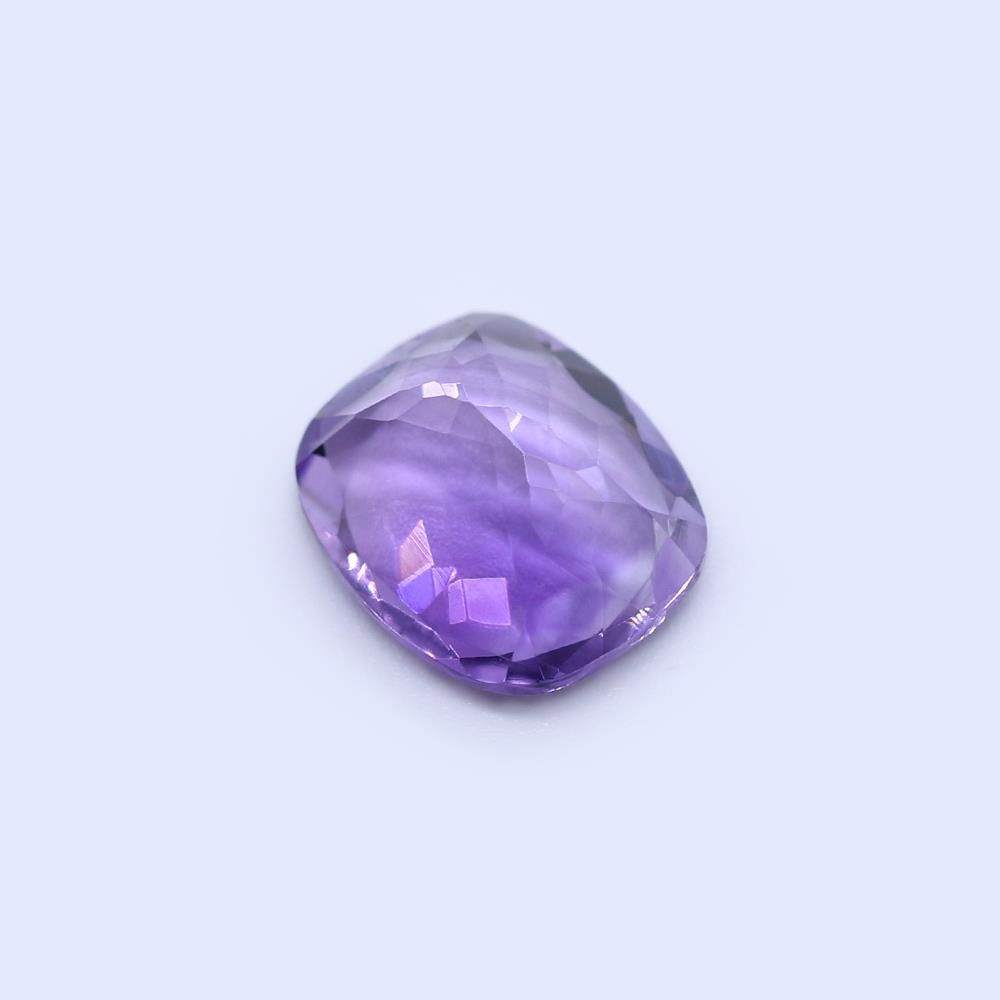Amethyst (Brazilian) 13x11mm Elongated Cushion Faceted (Good Color)