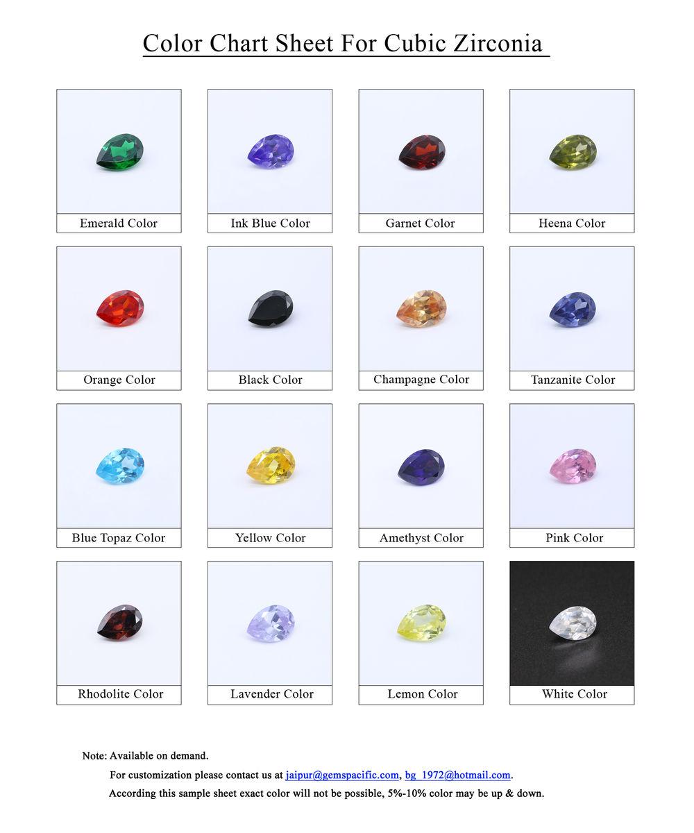 Cubic-Zirconia-Color-Chart