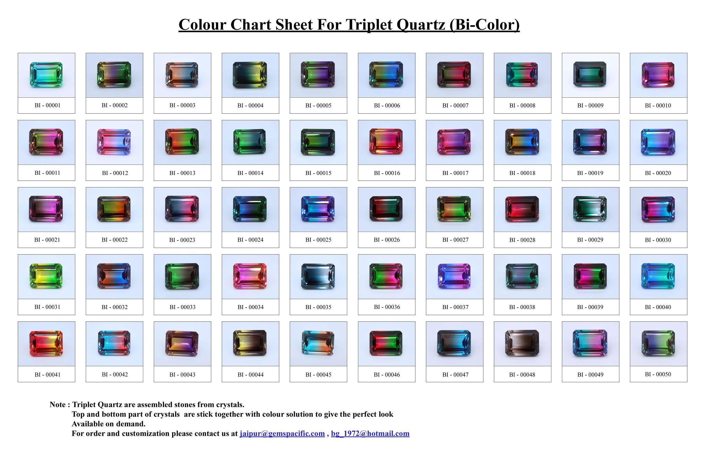 Doublet-Colour-Chart (Bi Color)