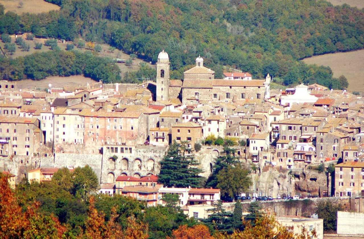 One day excursion to Orte from Tenuta Santa Cristina