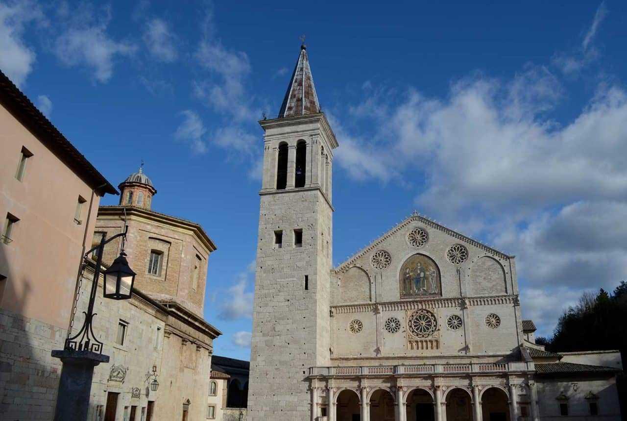 One day excursion to Spoleto from Tenuta Santa Cristina