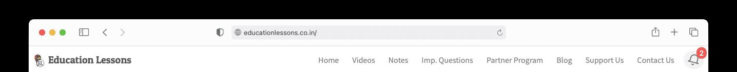 New notification view desktop