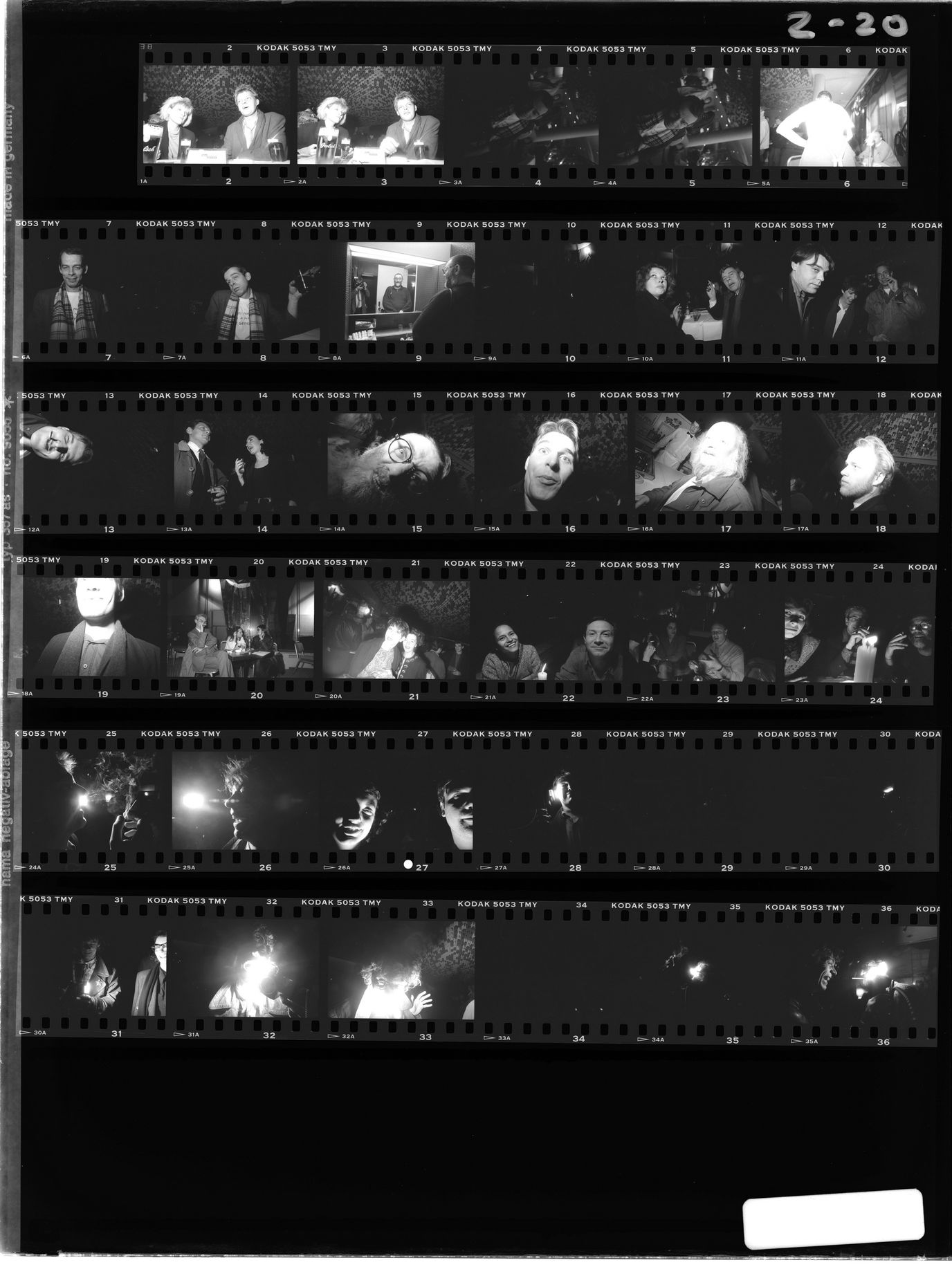 Picture This contact sheets