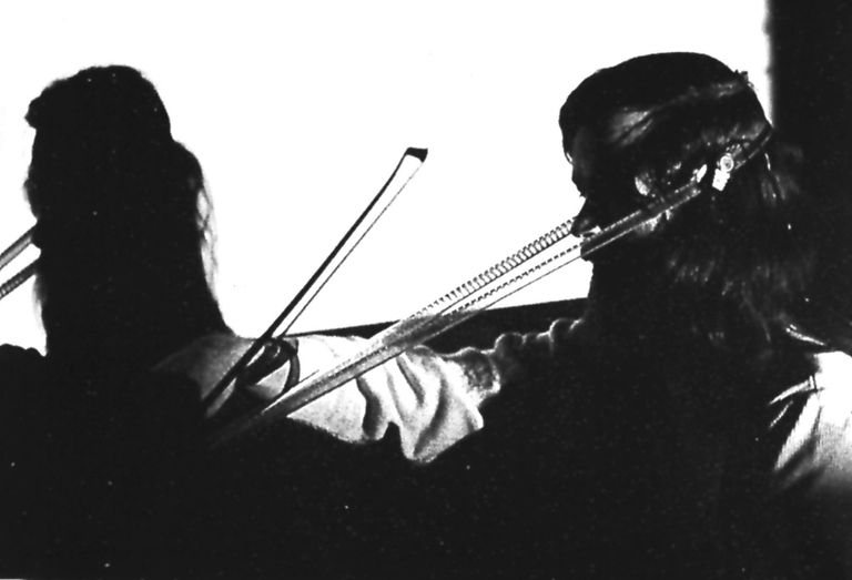 Sound Check Live: Tony Conrad, Violin Solo (in D)