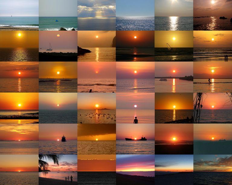 Sharing a Beautiful Sunset