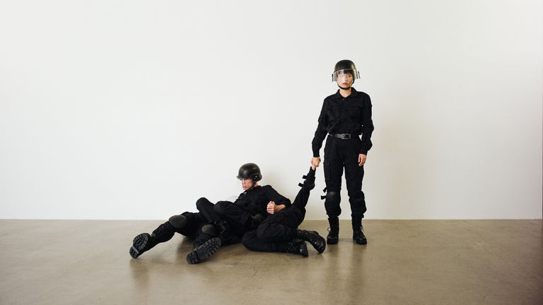 Rehearsal of the Futures: Police Training Exercises