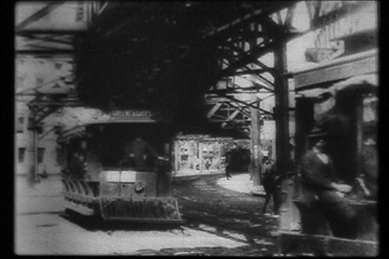 New York Street-Trolleys 1900
