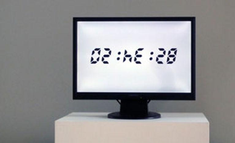 Flipped Clock