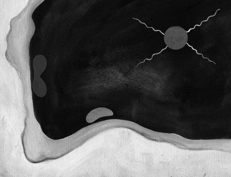 Kandinsky's  Violet