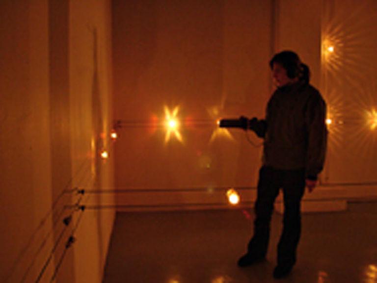 Sound Modulated Light #1