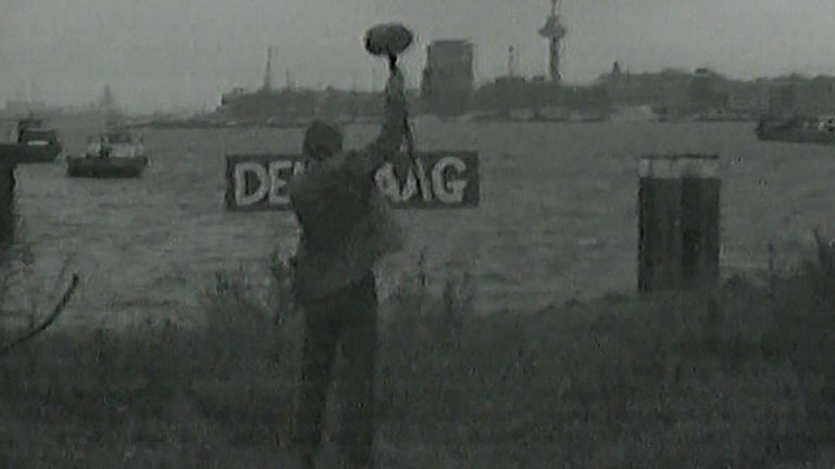 Verwisseling van de namen van de steden Rotterdam en Den Haag