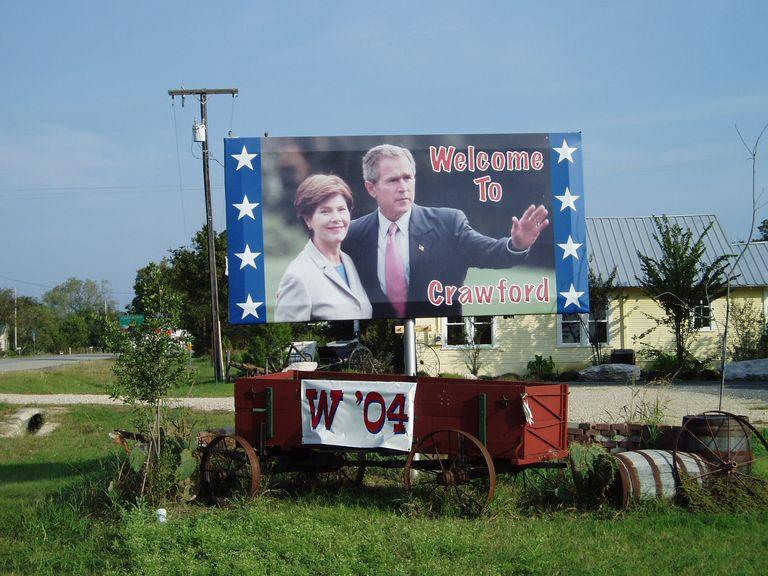 De buren van George W. Bush