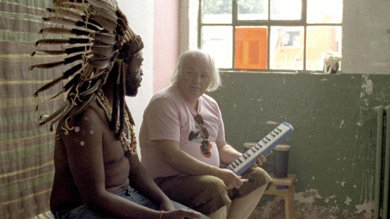 Reconstructing Damon Albarn in Kinshasa