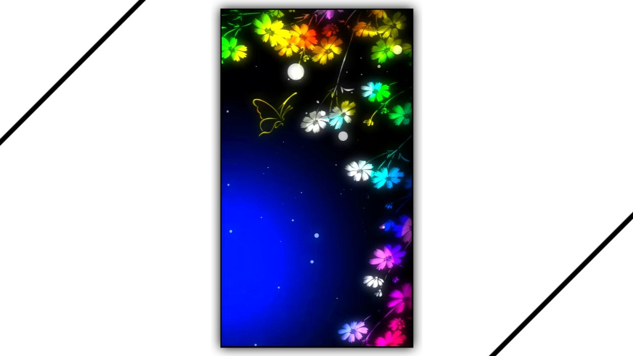 Neon Lights Effect Kinemaster Template Download Free