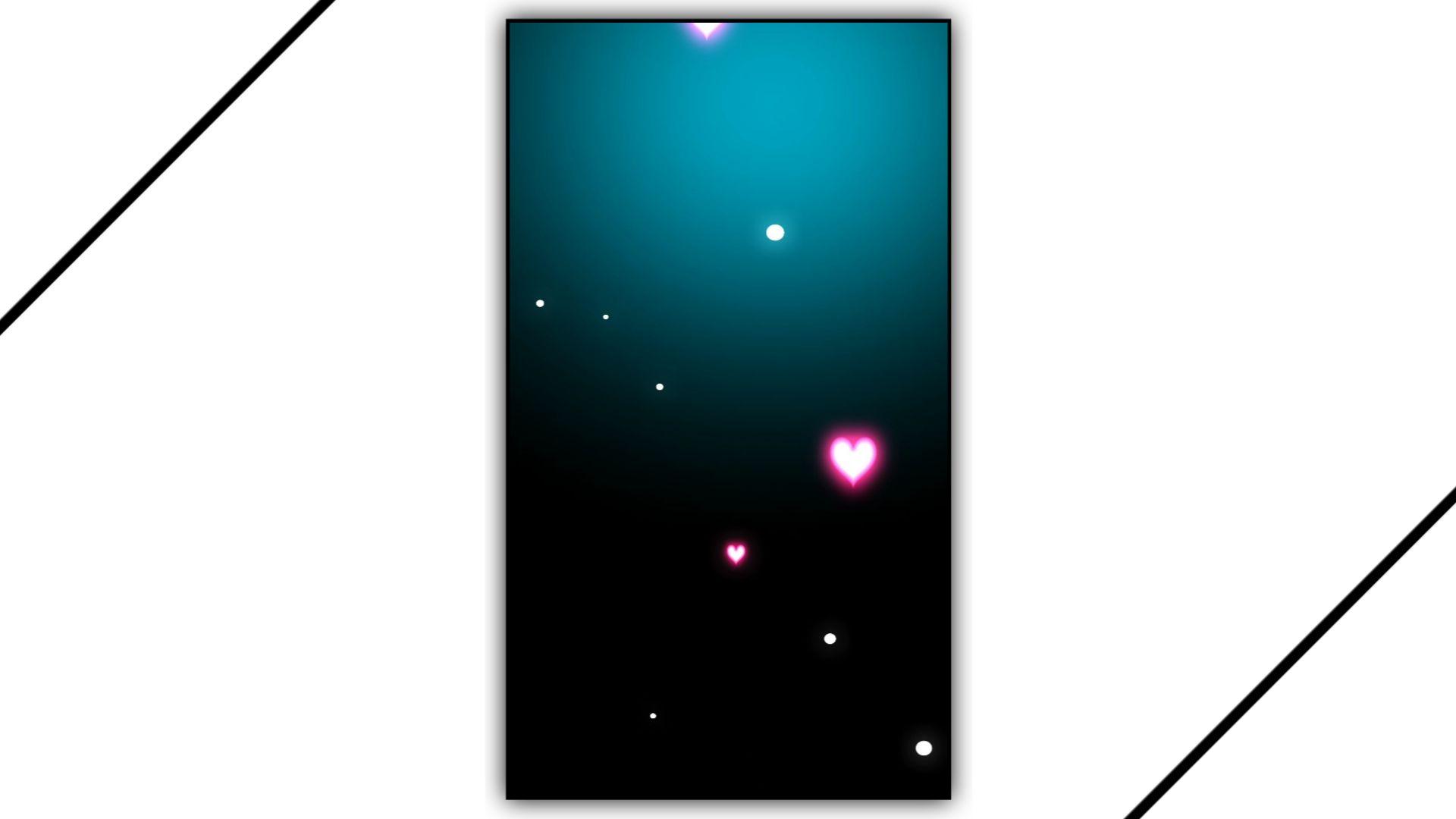 Heart Light Effect Kinemaster Template