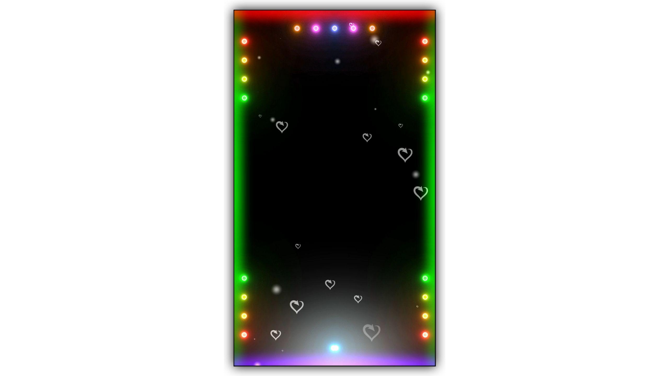 Led Light Drop Video Kinemaster Template Download