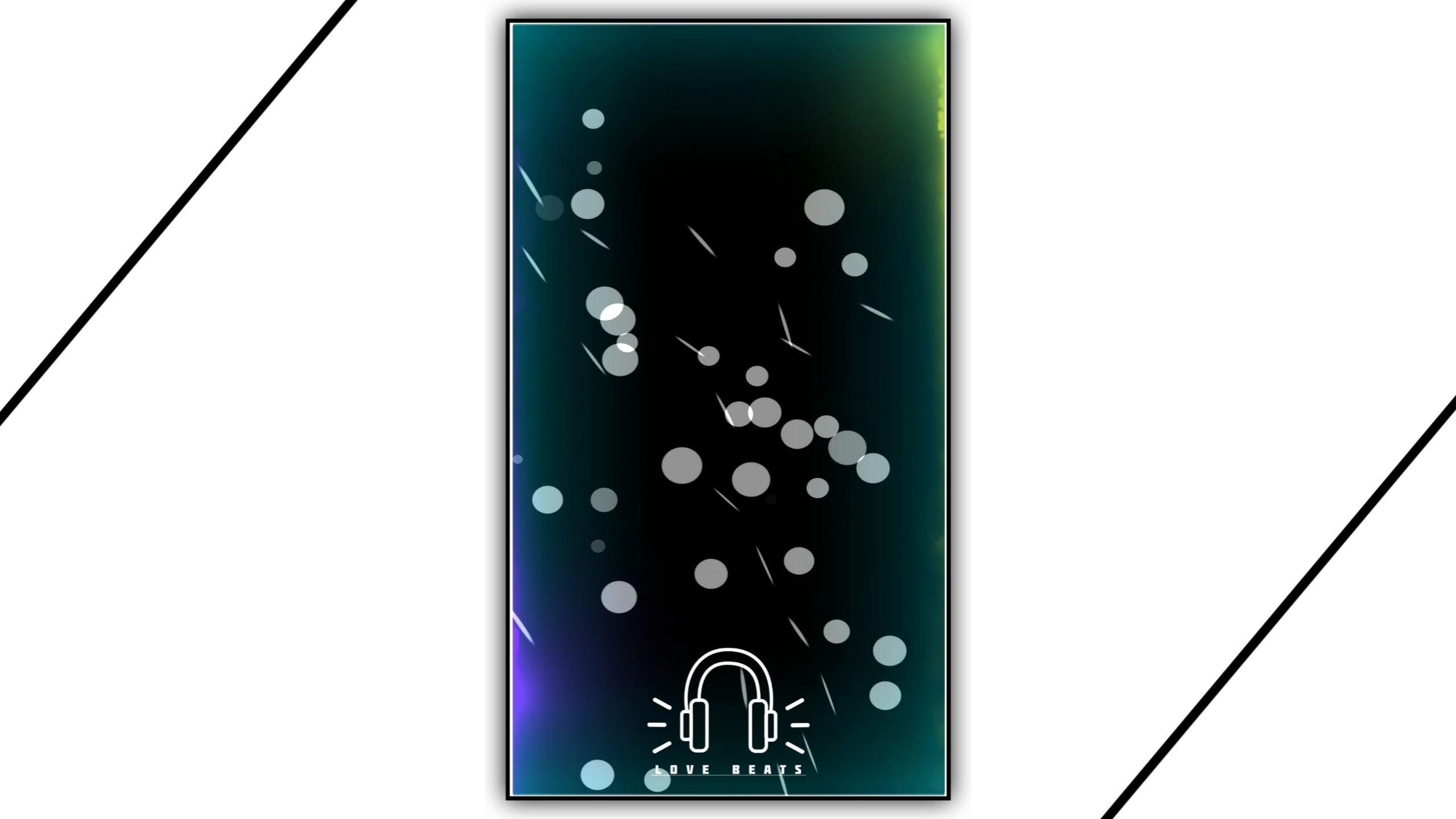 Aurora Sleep Light Drop Particles Kinemaster Template Video Download