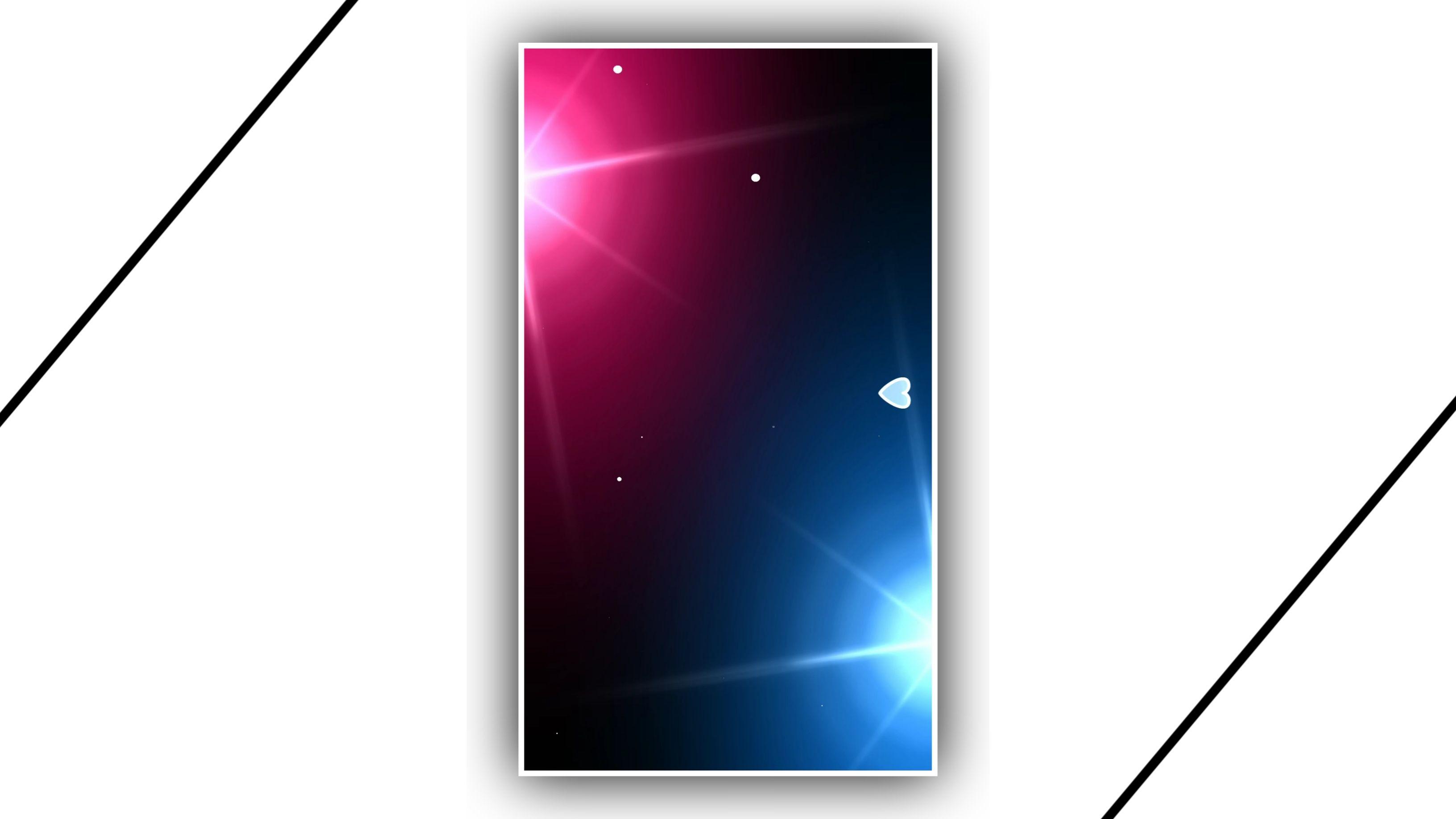 Abstract Star Light Drop Effect Video Kinemaster