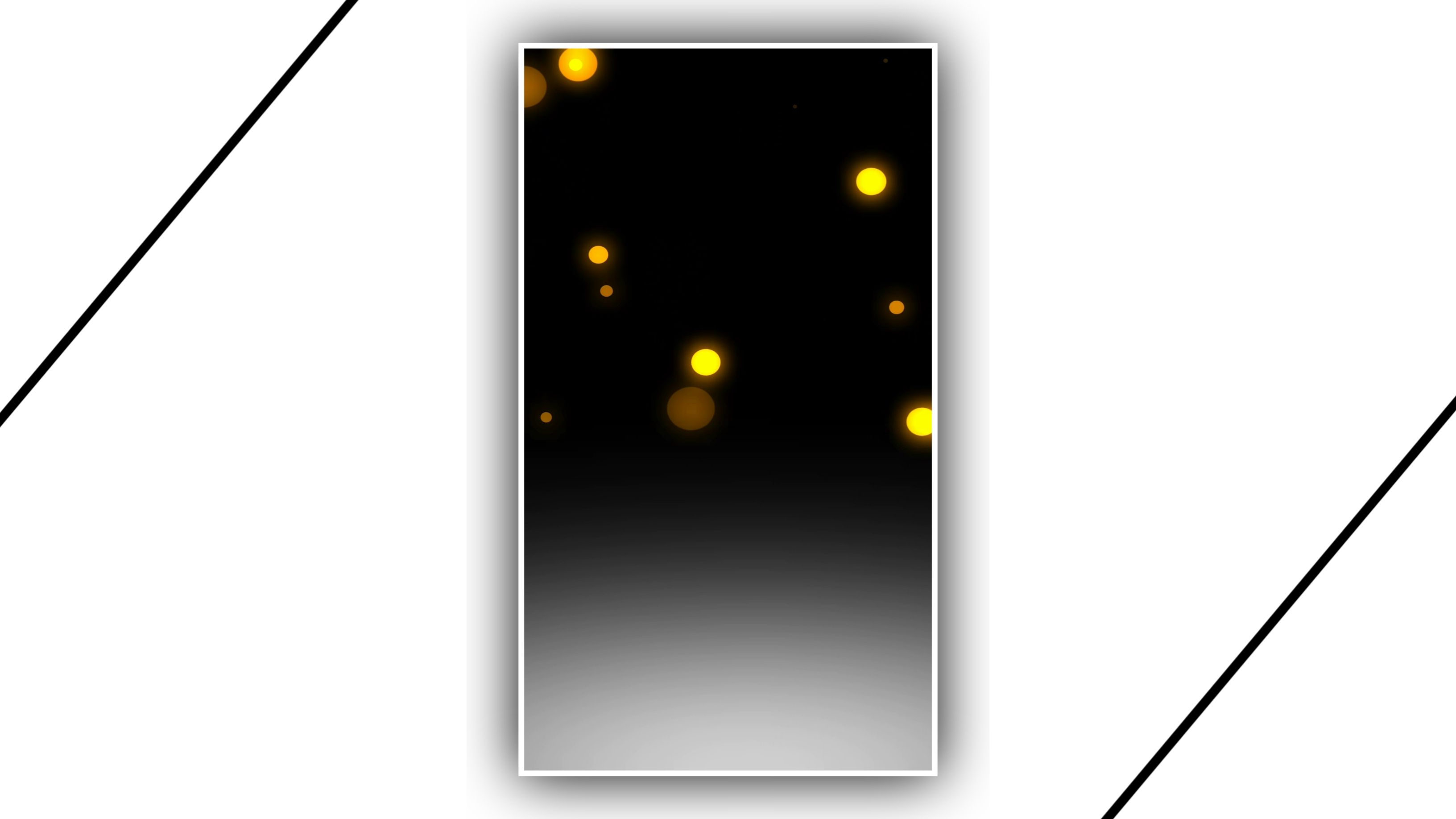 Dropping Magical Light Kinemaster Template