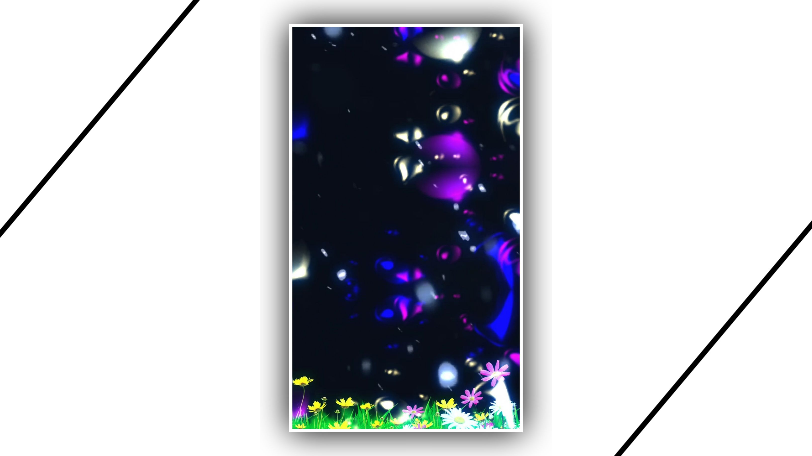 Lighting Steels Particles Kinemaster Template