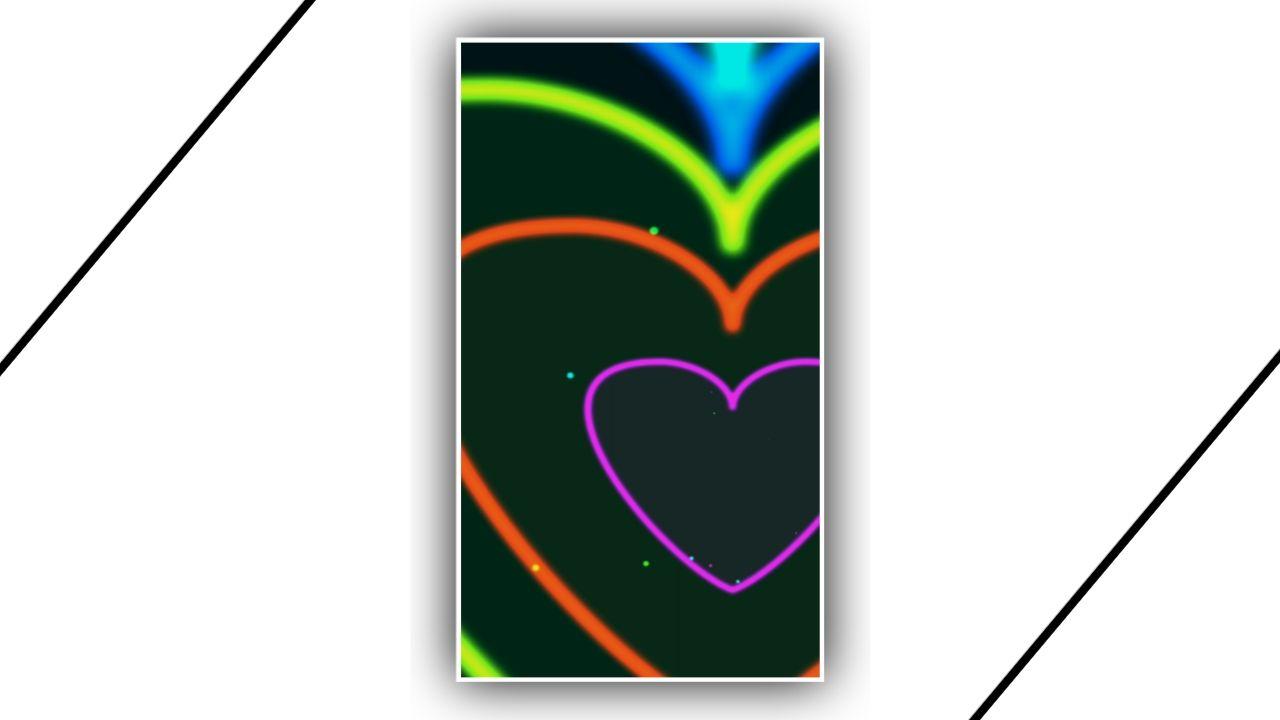 Heart Zoom Loop Kinemaster Template