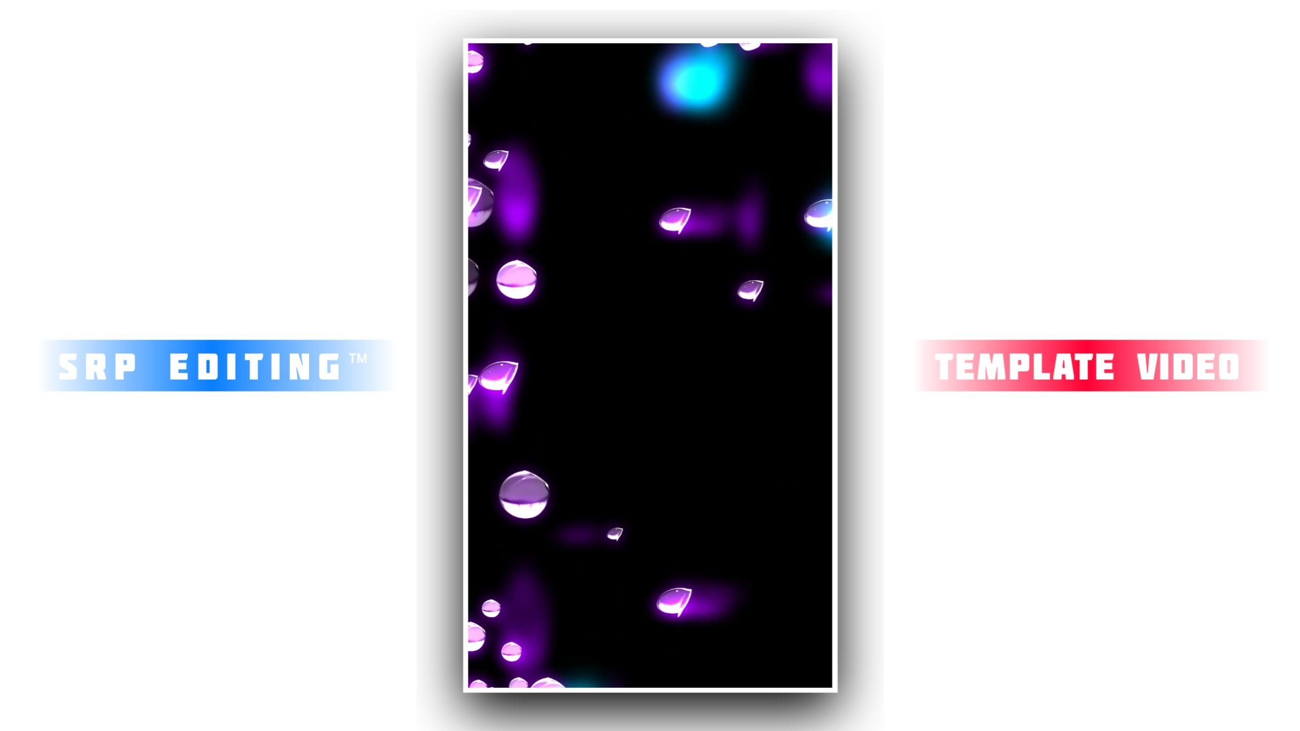 Diamond Drop Effect Kinemaster Template Video