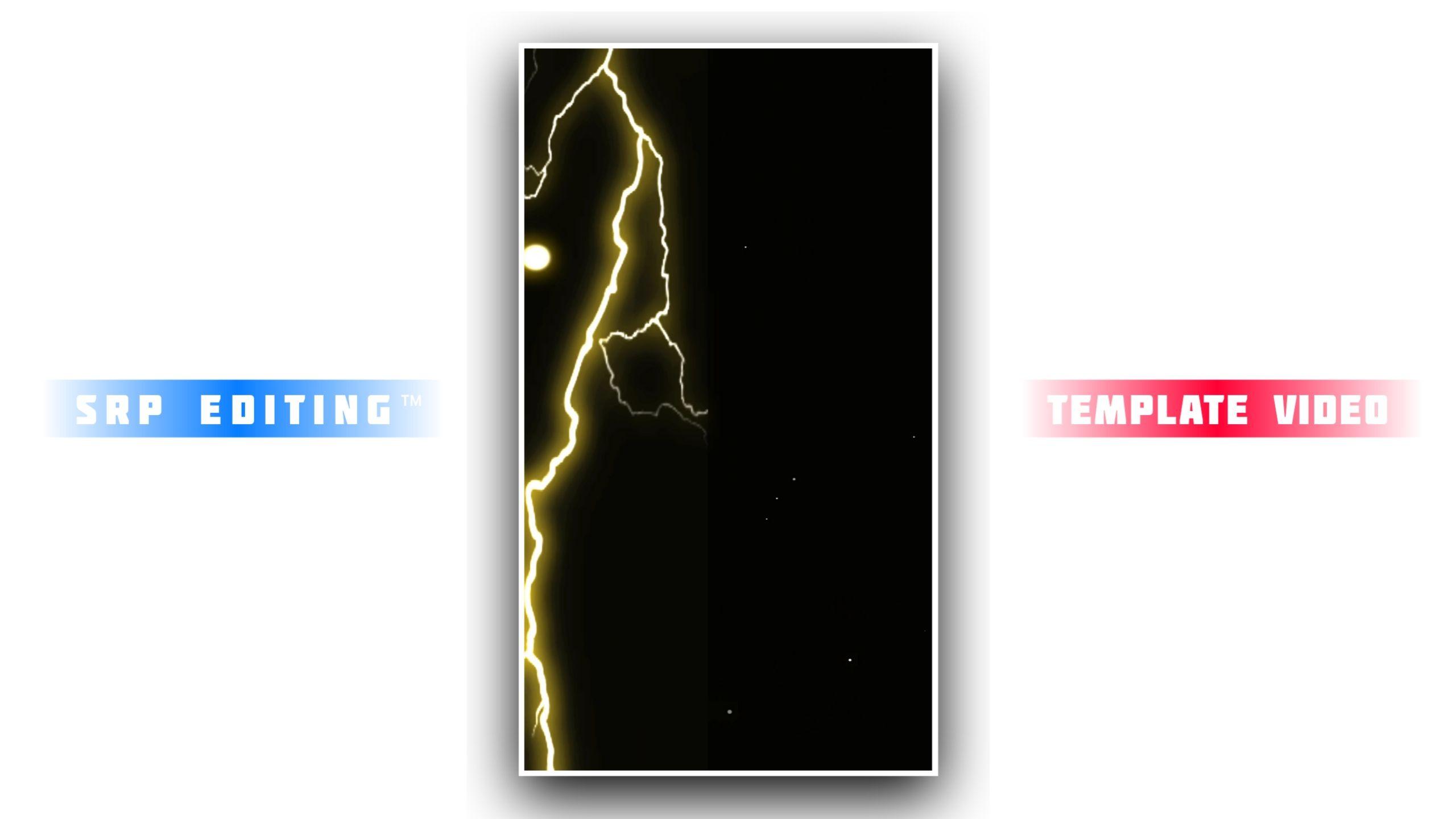 Thunder Storm Lighting Kinemaster Template