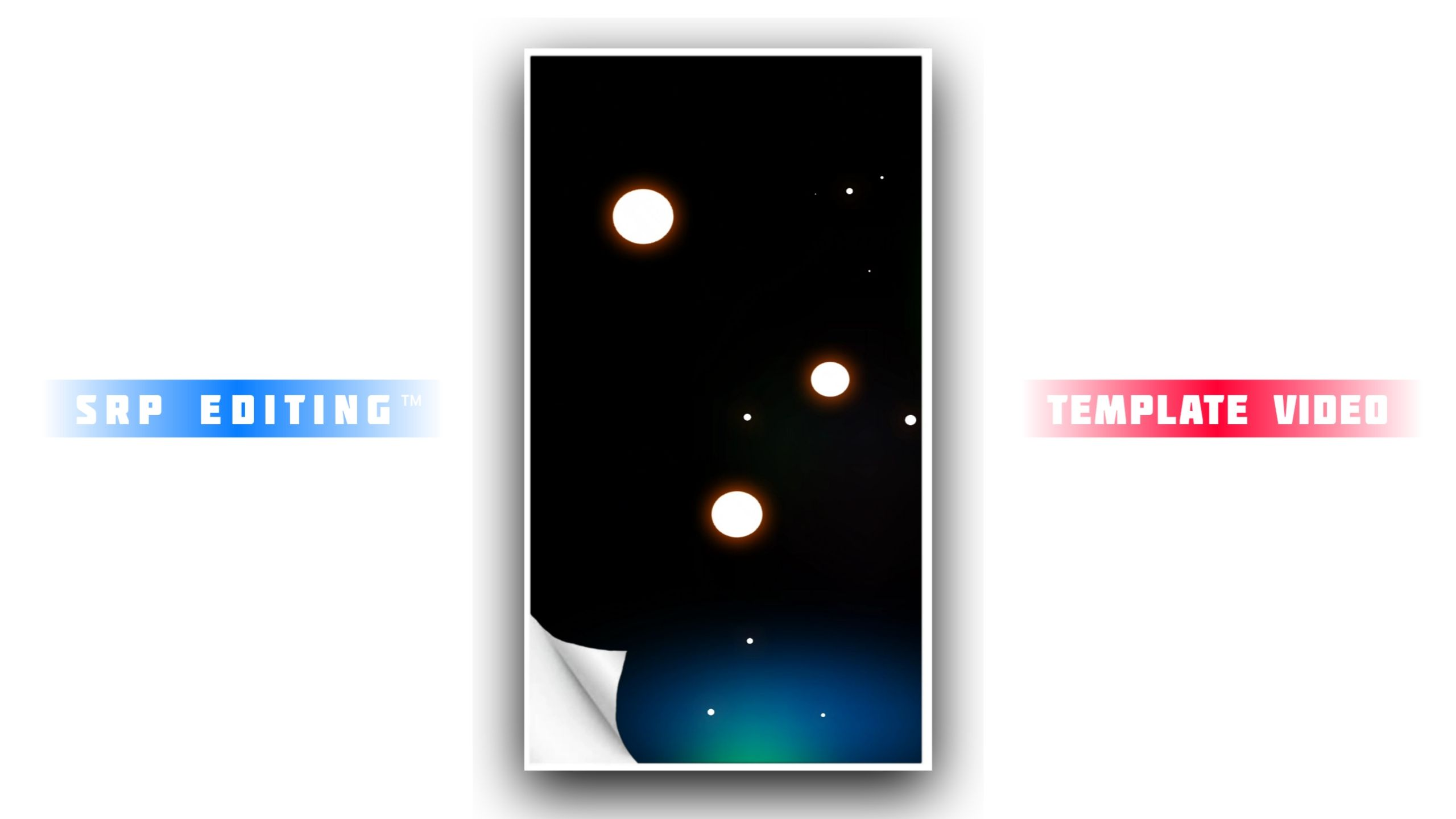 Vector Page Black Screen Kinemaster Template