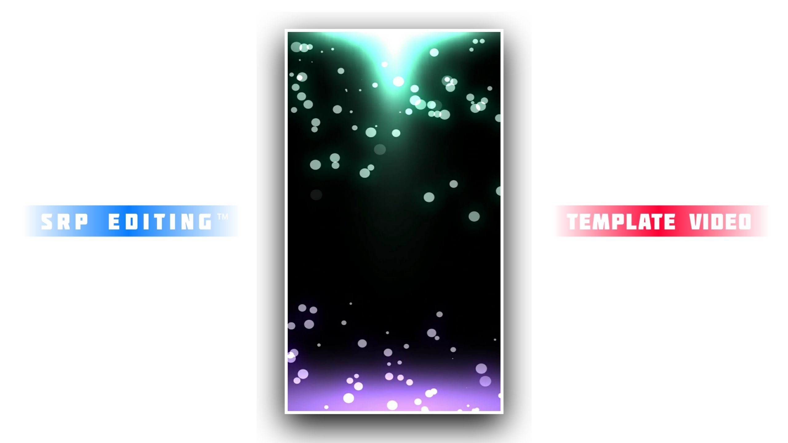 Cool Color Light Particles Kinemaster Template HD