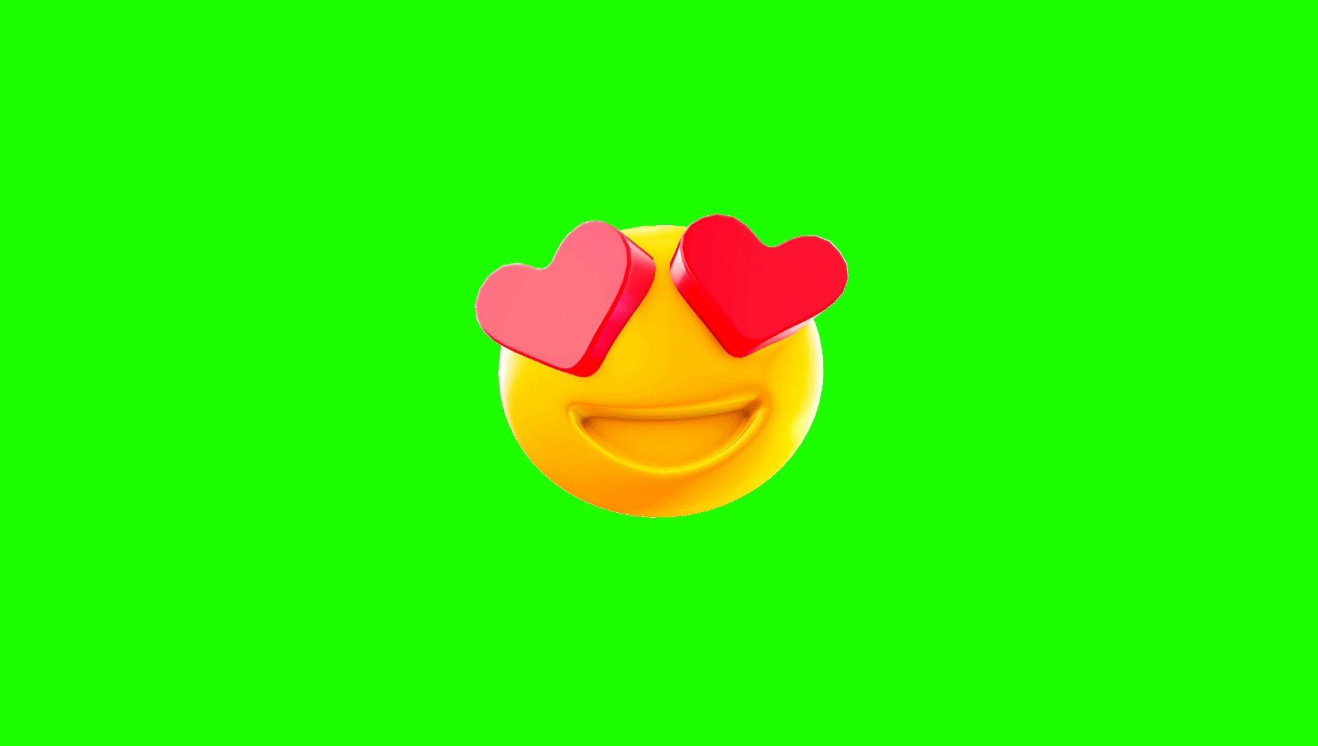 3D Green Screen Screen Bouncing Emoji Video Kinemaster Effect Download