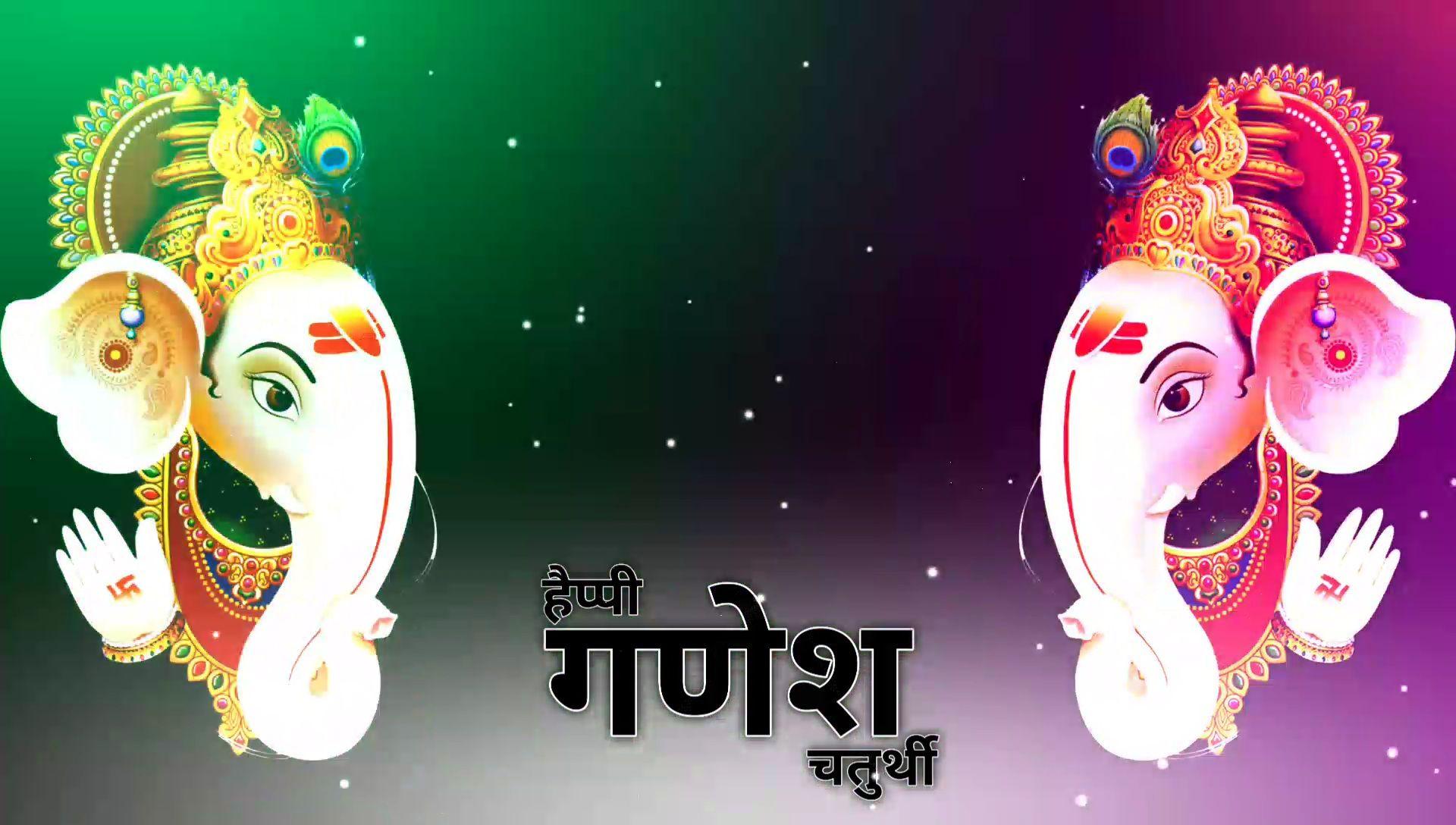 Happy Ganesh Chaturthi 2021 Kinemaster Template Download Free