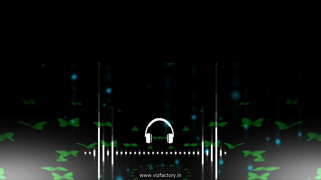 Simple Headphone Blur Radius Avee Player Visualizer Template Download Free